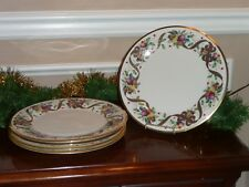 LENOX HOLIDAY TARTAN PLAID DINNER PLATES ~ SET OF 4 ~ New with tags