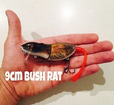 9cm Killer Crank Rattle Rat (Bush Rat) Surface Cod Fishing Lure