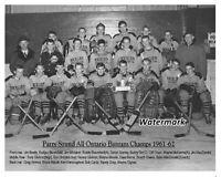 1961 - 62 Parry Sound Bantam Champs Team Picture Bobby Orr 8 X 10 Photo Picture