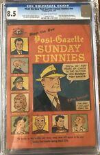 Meet the New Post Gazette Sunday Funnies - 1949 - CGC 8.5 (3rd highest copy)