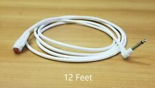 """Nurse Call Cord 12', 1/4"""" Phono Plug (From Manufacturer)"""