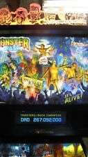 Williams Monster Bash Pinball machine treasure cove collector quality many mods