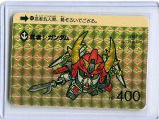 SD GUNDAM CARDDASS JAPANESE card 1990 PRISM 248 Musha Nyu Gundam