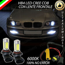 COPPIA LAMPADE FENDINEBBIA HB4 LED CREE COB CANBUS BMW SERIE 3 E46 NO ERROR