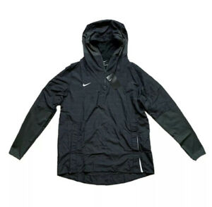 Nike Men's Football 1/4 Zip Pullover Hoodie Jacket Lightweight Sz L CI4477-015