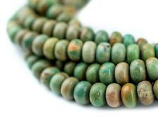 Light Green Turquoise Rondelle Beads 6mm Disk Gemstone 15 Inch Strand