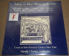 Chaney MUSIC OF HOLY WEEK AND EASTER Lassus/Byrd - Fleur de Lis FL 01 SEALED
