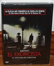 EL EXORCISTA EL MONTAJE DEL DIRECTOR DVD NUEVO PRECINTADO TERROR (SIN ABRIR) R2