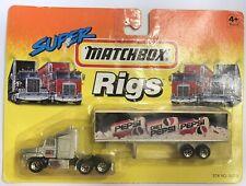 Matchbox Convoy Super Rigs - PEPSI Diet Pepsi - Ford Aeromax - SILVER - MOC NEW