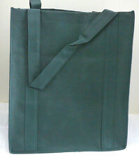 Reusable GROCERY BAG - DARK GREEN - Large Size Recyclable Shopping Tote