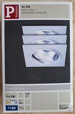 Paulmann 925.32 - EAN 4000870925324 - 3 x 3 W LED 3 x 720 cd - Alu gebürstet