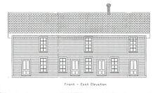 DSP&P ALPINE BOARDING HOUSE HO Craftsman Unpainted Wood Craftsman Kit CM39103