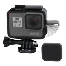 For GoPro HERO5 Black Protective Frame Housing Case Shell Mount w/ Soft Lens Cap