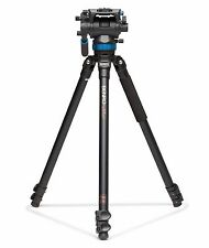 Benro A373FBS8 Video Tripod Kit with S8 Head -- Max Load 17.6 lb (8 kg)