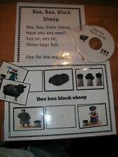Baa Baa sheep CD, INTERACTIVE BOARD +SONG BOARD