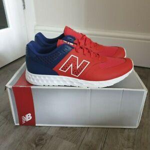 NEW BALANCE Men's MFL574 PB Trainers, UK11.5, Red, Blue, Brand New, Unworn