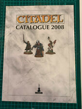 Warhammer 40,000 CITADEL catalogue 2008 by Games Workshop