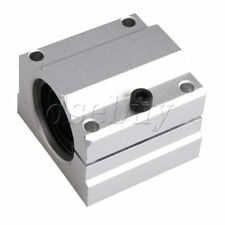 16mm SC16AJ Adjust Linear Motion Ball Bearing Slide Bushing Block Silver