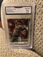 2019 Topps Update Mitch Keller Rookie Graded 10 Pittsburgh Pirates