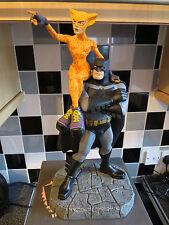 DC Direct Limited edition Batman il Cavaliere Oscuro & Catgirl figura FRANK MILLER