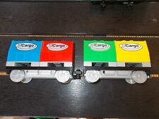 Lego® Duplo Eisenbahn - Intelli - 2 Cargo- Wagen / Waggons