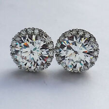 925 Sterling Silver earrings  with cubic zirconia