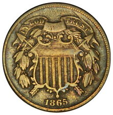 1865 TWO CENT ~ CHOICE FINE/VF ~ PRICED RIGHT! (INV#11)