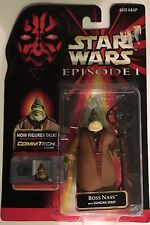 Star Wars Boss Nass Action Figure - Episode I Collection 3 with CommTech Chip
