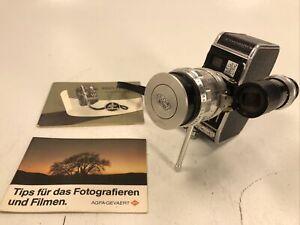 BOLEX C8 8mm Camera with SOM BERTHIOT 10-30mm f/2.8 PAN-CINOR