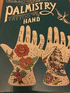 PALMESTRY TATTOO HAND ORNAMENT - LOVE