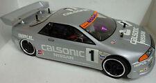 1:10 RC Nitro EXCRC Petrol Engine Silver Nissan Skyline On Road Car