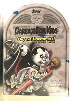 2018 TOPPS GARBAGE PAIL KIDS series 2, THE HORROR-IBLE STICKER CARD BLASTER BOX!