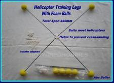 HELICOPTER TRAINING LEGS FOAM BALLS DOUBLE HORSE 9053 9101 TREX450