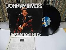 JOHNNY RIVERS -Greatest Hits KOREA LP W/Insert