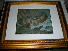 "C.T. Russell PHOTO-DRAMA OF CREATION photo ""Jonah and Whale"" Watchtower IBSA"