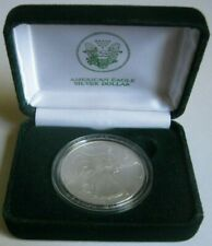 1996 Key-Date AMERICAN SILVER EAGLE COIN ~Lowest Mintage with Box & COA~