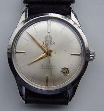 Titus Automatic date S / Steel Penta Star Incabloc wrist watch 25 J eta 2452