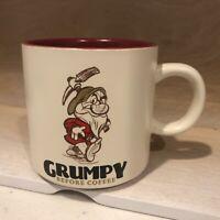 "Hallmark Disney ""Grumpy Before Coffee"" Snow White Dwarf Mug EUC"