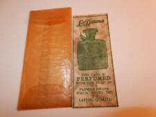 VINTAGE 1930s LaDERMA PERFUME SAMPLE CARD IN ENVELOPE RARE ANTIQUE LA DERMA