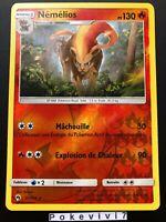 Carte Pokemon NEMELIOS 51/214 Rare Reverse Soleil et Lune 8 SL8 FR NEUF