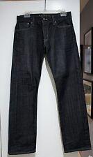 Levi's 514 Men's Jeans Black Grey Wash Denim Vintage Slim Straight Size 30 x 30