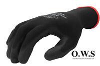 12 x PAIRS Polyco Matrix P Grip Glove Black Pair Size 10 - Extra Large