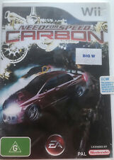 New listing Need for Speed Carbon - Nintendo Wii - PAL Includes Manual & Game Very Good Con