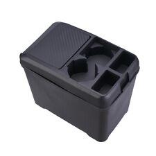 Car Garbage Can Portable Traveling Vehicle Trash Rubbish Bin Black Bottle Holder