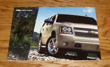 Original 2008 Chevrolet Tahoe Sales Brochure 08 Chevy LS LT LTZ Hybrid
