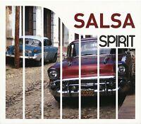 SPIRIT OF SALSA (NEW VERSION) 4 CD NEW