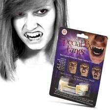 SPECIAL FX FANGS VAMPIRE DRACULA FANCY DRESS COSTUME TEETH RETRACTABLE HALLOWEEN