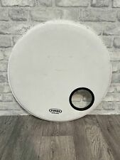 """More details for evans level 360 eq3 front resonant bass drum head skin 22"""""""