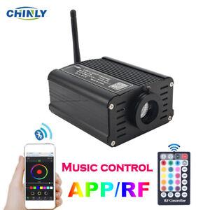Bluetooth Fiber Optic Engine Smartphone APP Control 16W RGBW Ceiling Light Box