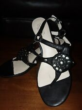 Coach Authentic Harper Ladies Womens Wedge Shoes Sandals Size 9 Very Nice